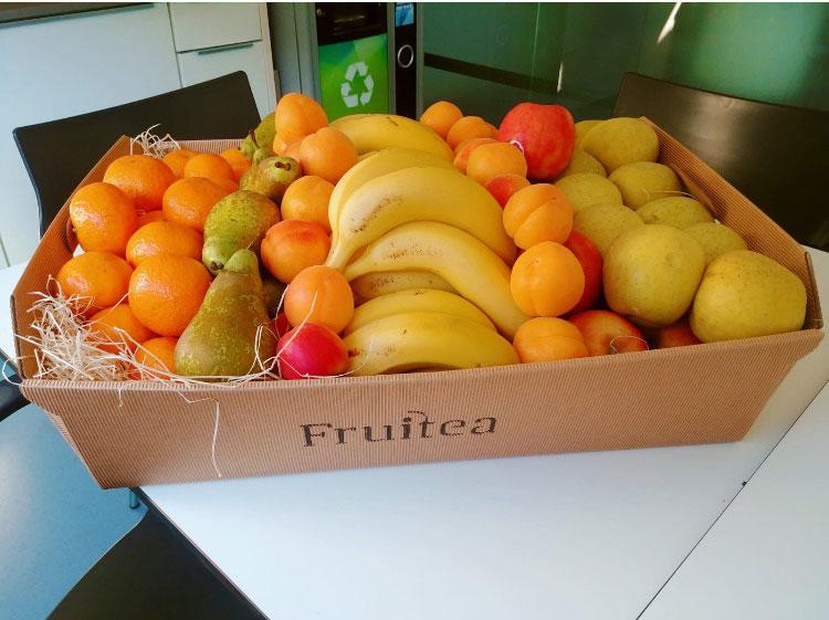 Cestas de fruta a domicilio
